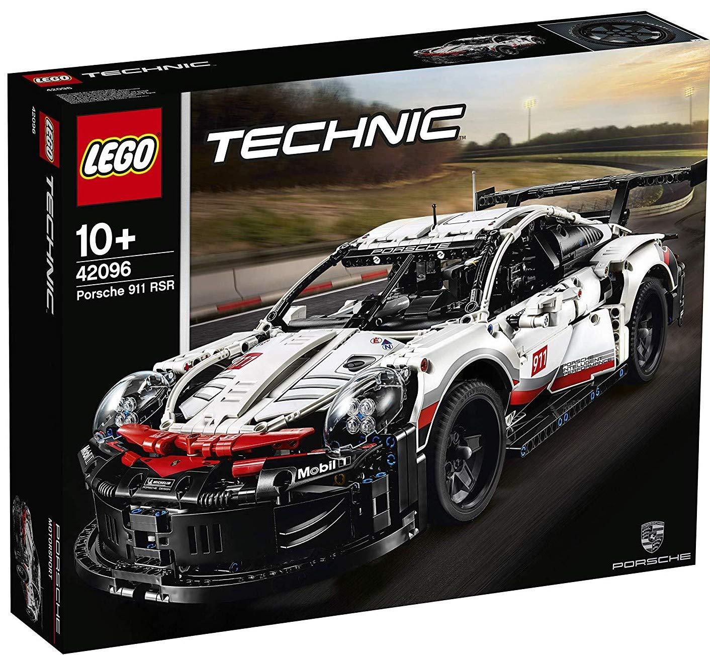 レゴ(LEGO) TECHNIC ポルシェ 911 RSR 42096 [並行輸入品]   B07NW5YWFG