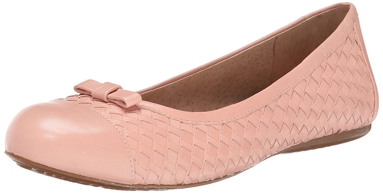 SoftWalk Women's Naperville Ballet Flat B00DR145X2 6.5 N US|Pale Pink