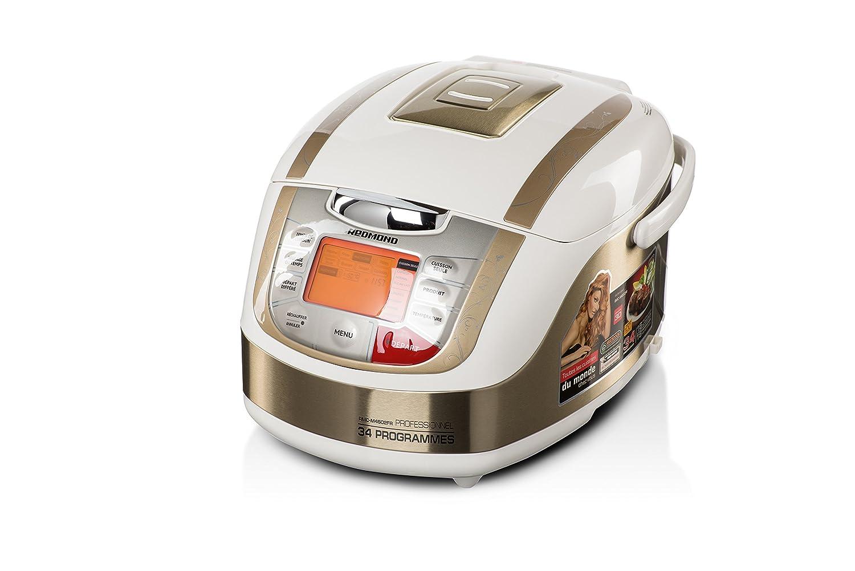Multicooker Redmond rmc-m4502fr–34programmi, francese Menu (Bianco) [Classe di efficienza energetica A+] RMC-M4502FR Blanc