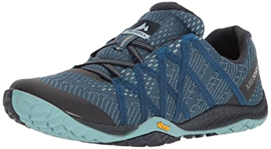 check out c34a5 b4670 Merrell Women's Trail Glove 4 E-mesh Sneaker