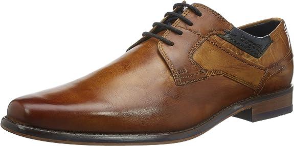 TALLA 45 EU. bugatti 312130051100, Zapatos de Cordones Derby para Hombre