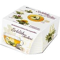 "Creano Teeblumen Variation im exklusiven Tassenformat ""ErblühTeelini"" | 8 Teeblüten in 4 verschiedenen Sorten (Weißer Tee)"