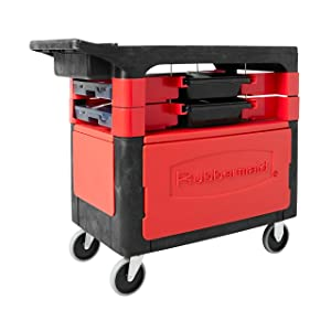 Rubbermaid Commercial Rolling Tool Chest, Black, FG618088BLA