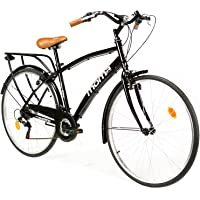 "Moma Bikes Vélo de Ville CITY 28"", Aluminium, SHIMANO 18V, Selle Comfort"