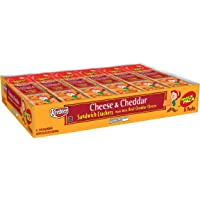 Keebler Cheese and Cheddar Sandwich Crackers,1.8 oz Packages (12 Count)