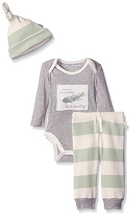 48bf15575 Amazon.com  Burt s Bees Baby Baby Organic Bodysuit with Drawstring ...