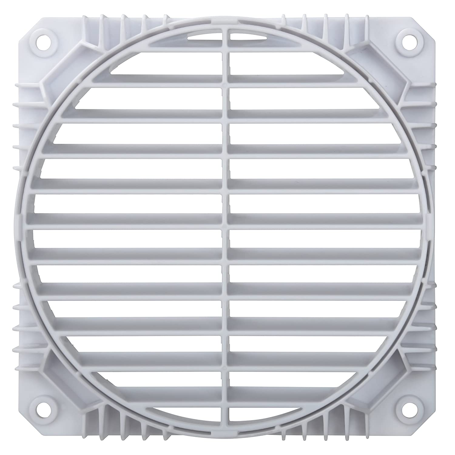 Solution to Airflow Management Twin Pack White Enermax Air Guide 360/° Rotatable Fan Grill EAG001-W