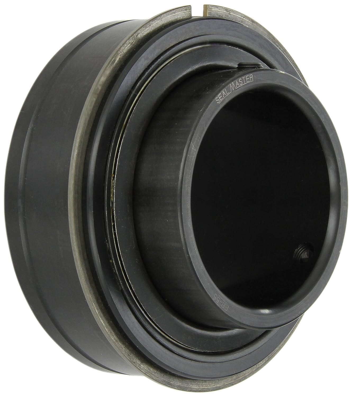 Light Contact Felt Seals 3-3//8 Width 150 mm OD Sealmaster ER-55 Cylindrical OD Bearing Setscrew Locking Collar 3-7//16 Bore