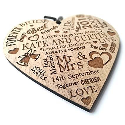 Lovethis Personalised Wedding Day Gift For The Bride Groom