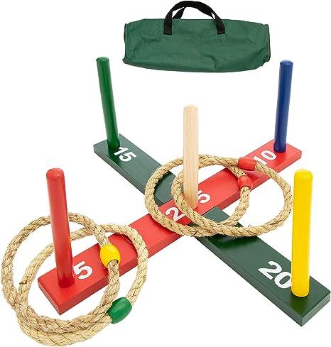 Amazon.com: WE Games Rope Ring Toss Yard Game - Juego de ...