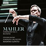 Mahler:Symphony 1/Blumine [Hannu Lintu, Finnish Radio Symphony Orchestra ] [ONDINE : ODE 1264-5]