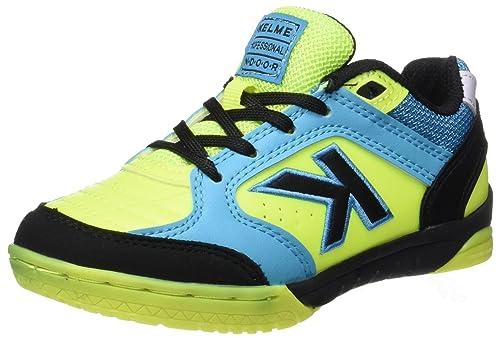 e252536fa86 Kelme Precision Kids Synthetic, Botas de fútbol Unisex niños, Verde (Lima),  38 EU: Amazon.es: Zapatos y complementos