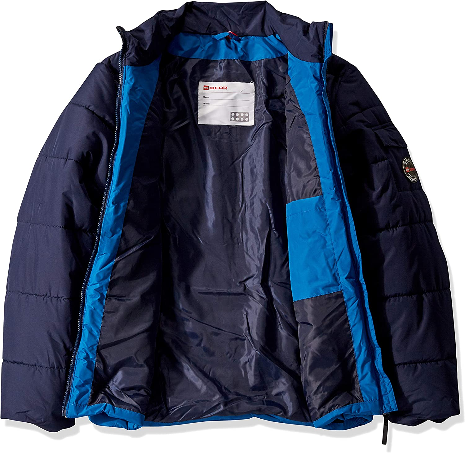 LEGO Wear Kids Jacket with Adjustable Cuffs and Mobile Phone Pocket