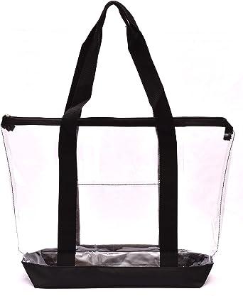 Amazon.com: Bolsa transparente con cierre de cremallera ...