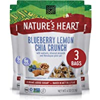 Nature's Heart | Healthy Mixed Nuts Snack | Keto, Gluten Free, Vegan, Low Carb, Paleo | Ethically Sourced | Blueberry…