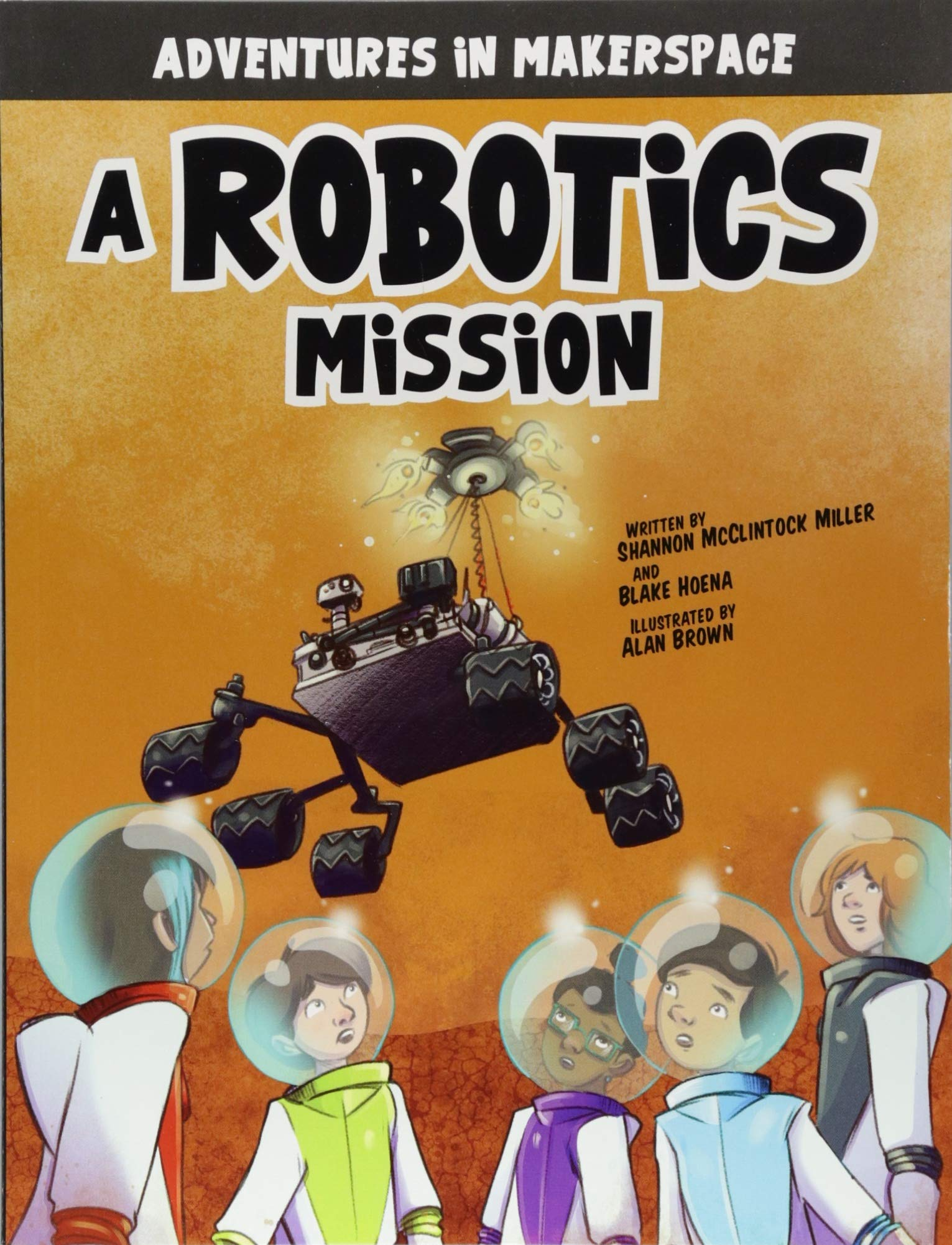 Download A Robotics Mission (Adventures in Makerspace) pdf