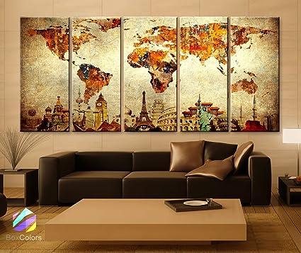 Amazon Xlarge 48x 48 48 Panels 48x48 Ea Art Canvas Print Mesmerizing Home Interior Framed Art