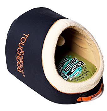 touchdog Interior Active-Play Exquisito panorámica Funda Vintage Emblema Perro Cama: Amazon.es: Productos para mascotas
