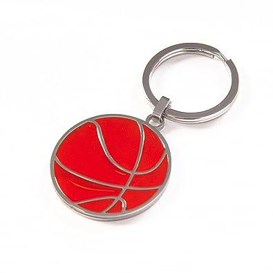 Llavero balón de baloncesto de acero y esmalte: Gianfranco ...