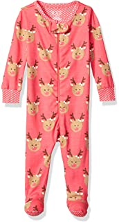2eccfa93b9f5 Amazon.com  The Children s Place Girls  Printed Blanket Sleeper ...