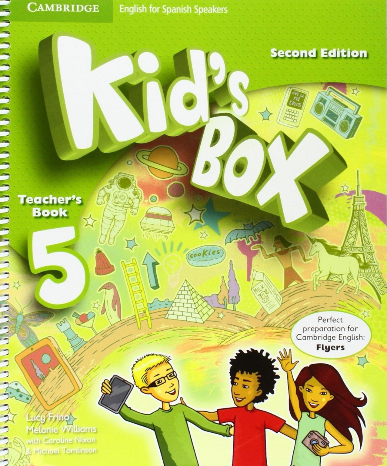 Kid's Box for Spanish Speakers Second Edition Level 5 Teacher's Book -  9788490364406: Amazon.es: Lucy Frino, Melanie Williams, Caroline Nixon, ...