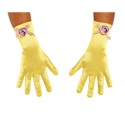 Disney Princess Belle Beauty & the Beast Girls' Gloves: Toys & Games