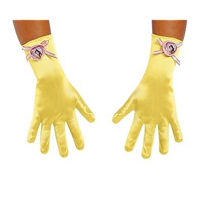 Disney Princess Belle Beauty & the Beast Girls' Gloves: Toys & Games