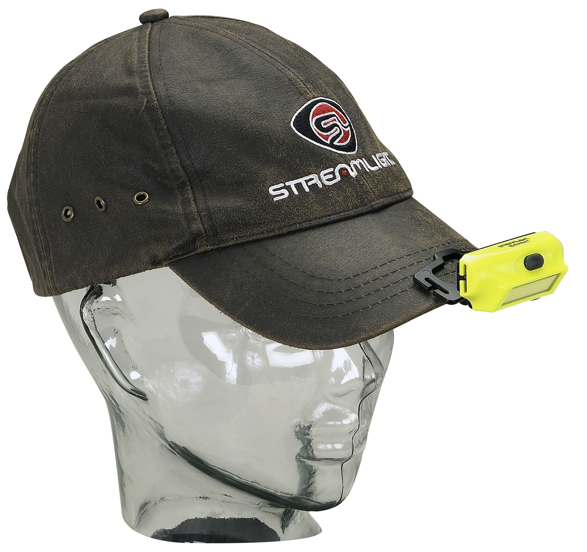 Streamlight 61702 Bandit - includes headstrap, hat clip and USB cord, Black - 180 Lumens by Streamlight (Image #5)