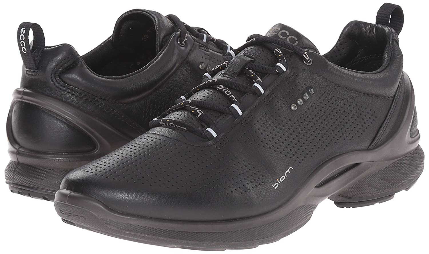 ECCO Women's Biom Fjuel Train Oxford US|Black B00VJ5DVQ0 38 EU/7-7.5 M US|Black Oxford 01565a