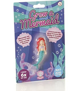 2x Hatching Mermaid Eggs Magic Growing Hatch Fish Pets Kids Gift Toy Fun Water