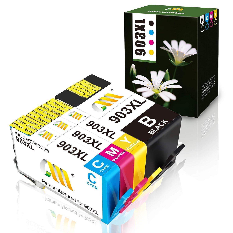 CMCMCM - Cartuchos de Tinta reciclados para HP 903 903XL Multipack ...