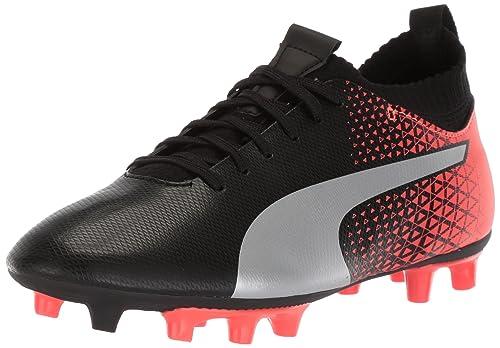 2876a2ee2219 PUMA Unisex-Kids Evoknit FTB FG Soccer Shoe