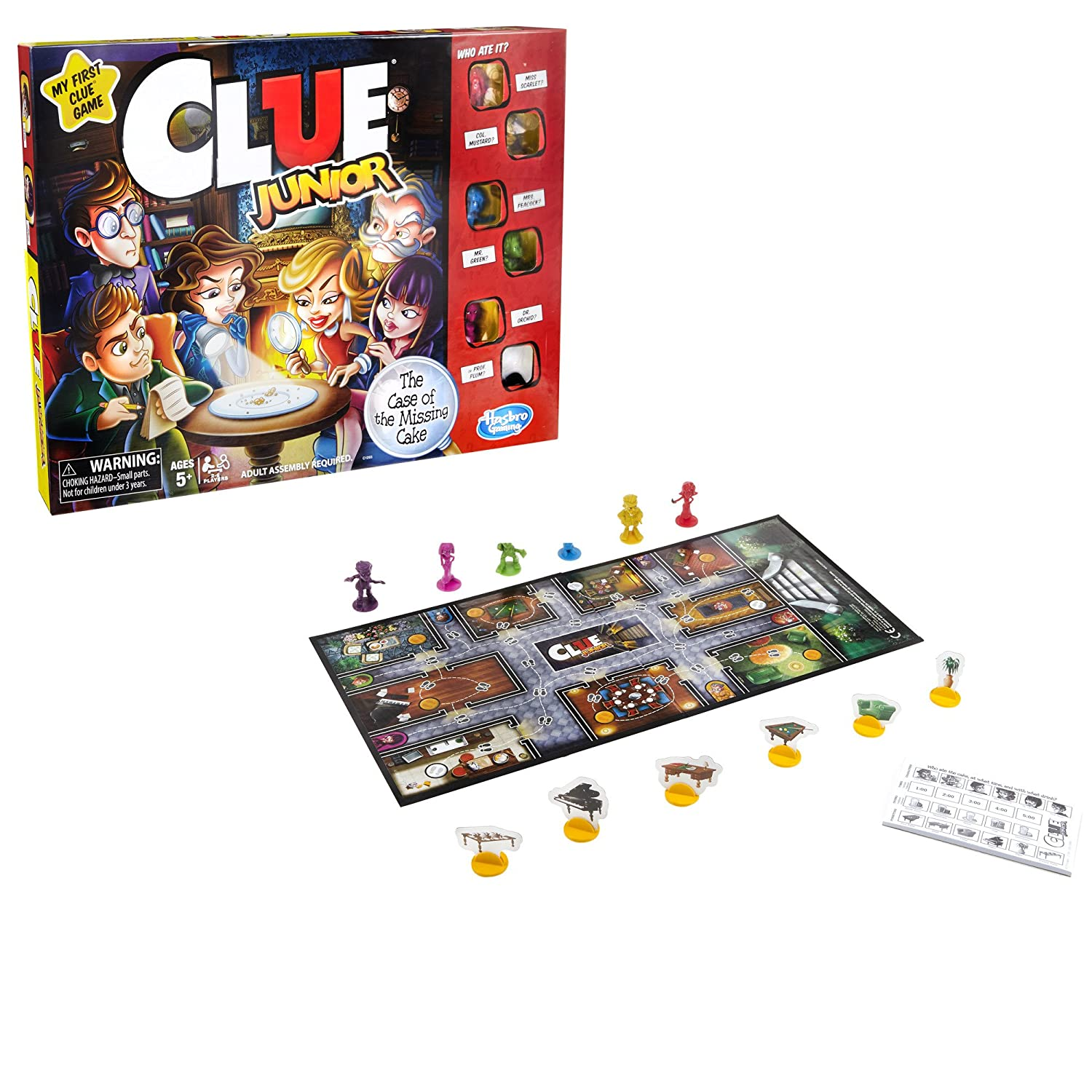 Clue Junior Game ONLY $8.99 (R...