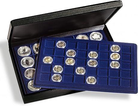 Estuches para monedas PRESIDIO TAB, vacío, para 4 bandejas de formato-L: Amazon.es: Juguetes y juegos