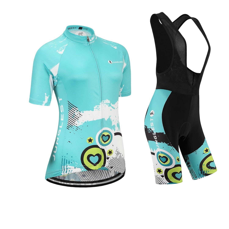 Cycling jersey Set, Maillot de Cyclisme Women Femme Short sleeve Manches Courtes(S~5XL,option:bib Cuissard,3D pad Coussin) N231 jnl