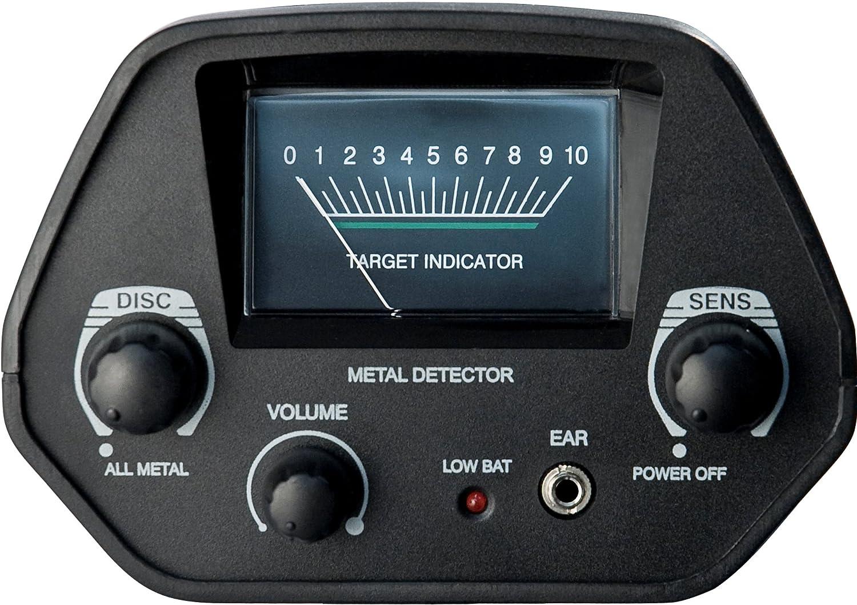 Barska detector de metales Pro Edition, negro, 41,9 x 36,8 x 19,7, be11638: Amazon.es: Deportes y aire libre