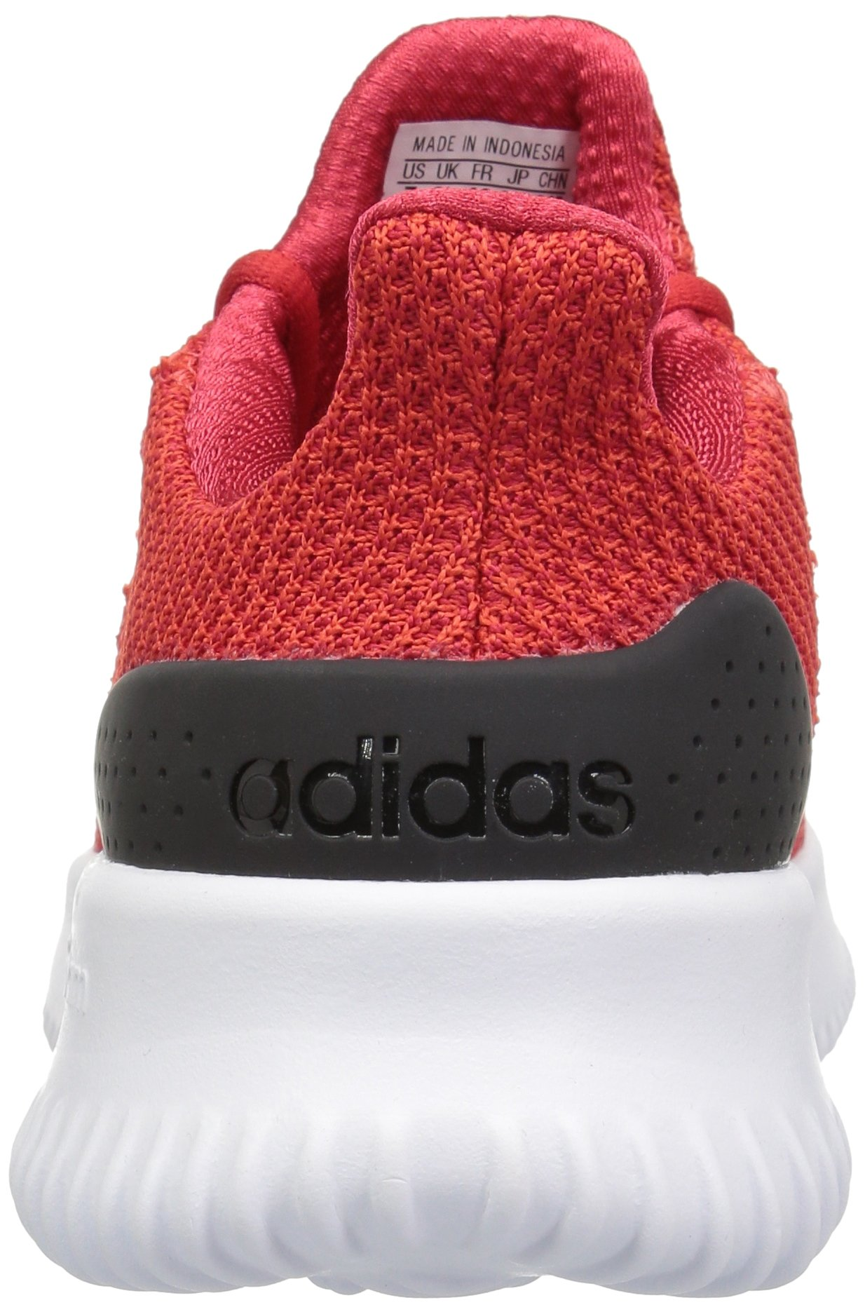 adidas Kids' Cloudfoam Ultimate Running Shoe, Red/Scarlet/Black, 1 M US Little Kid by adidas (Image #2)