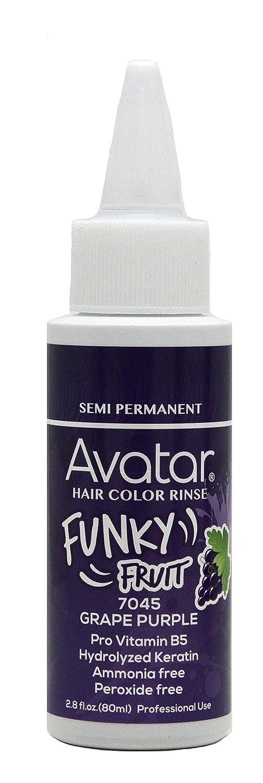 Amazon Avatar Funky Fruit Semi Permanent Hair Color Rinse 28