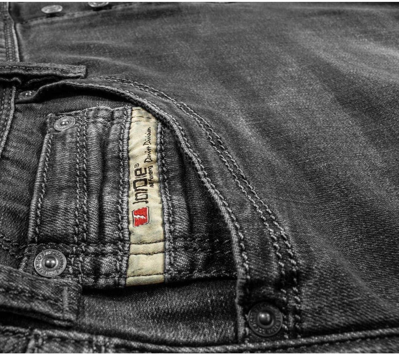 John Doe Jeans Denim Kevlar Kamikaze Jeans Black W34-L32