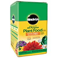Deals on Miracle-Gro Water Soluble All Purpose Plant Food 8 Oz