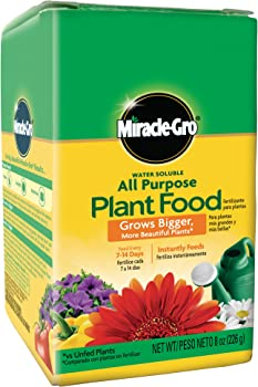 Miracle-Gro Water Soluble All Purpose Plant Food 8 Oz.