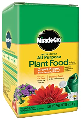 Miracle-Gro 2000992 Water Soluble All Purpose Plant Food