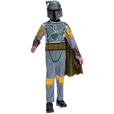 Star Wars Child\'s Boba Fett Costume, Medium: Toys & Games [5Bkhe0203988]