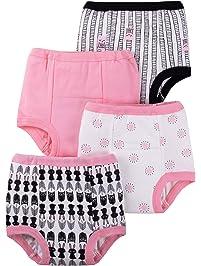 Lamaze Baby Girls  Organic 4 Pack Training Pants 7f1b28d09c29