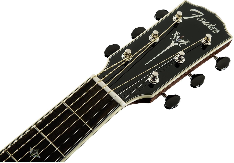 Fender 0960270221 PM-1 Deluxe Dreadnought - Guitarra eléctrica para diapasón (madera de ébano), Vintage Sunburst: Amazon.es: Instrumentos musicales
