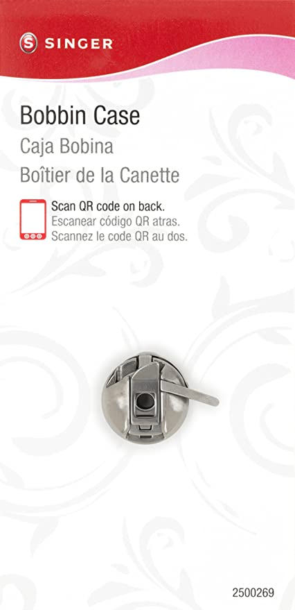 Singer - Estuche para máquina de coser con sistema de bobina de carga frontal clase 15 (enchapado): Amazon.es: Hogar