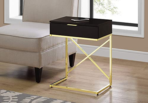 Monarch Specialties ACCENT, END TABLE, NIGHT STAND, CAPPUCCINO