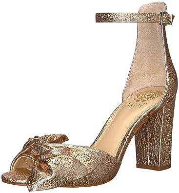6146f7a78bf Vince Camuto Women s Carrelen Heeled Sandal Beaming Blush 10 Medium US
