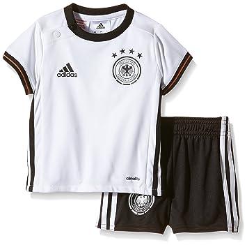 64ff179be adidas Baby Mini Germany Home Kit UEFA Euro 2016 White white black Size 68