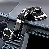 Soporte de teléfono para coche, soporte magnético para coche, salpicadero de coche, compatible con iPhone XS, XS Max, X, 8, 8